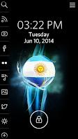 Screenshot of Argentina Soccer - Start Theme