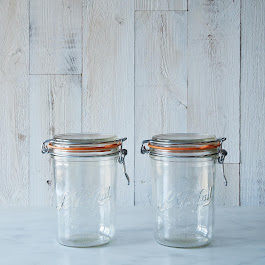Le Parfait 35 Ounce Bail Closure Canning Jars
