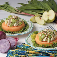 Cantaloupe Chicken Salad