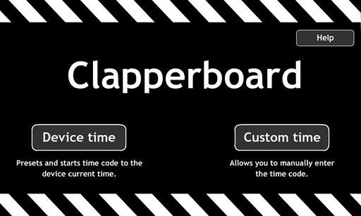 Clapperboard Clapboard