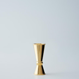24K Gold-Plated Jigger