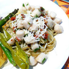 Bay Scallops Scampi