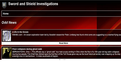 Sword and Shield Investigation