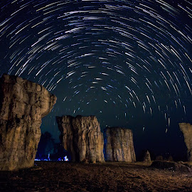 The Stonehenge of Thailand by Pongsak Kongcheep - Landscapes Starscapes