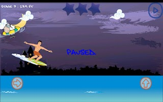 Screenshot of Surfing Boy