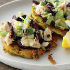 Zucchini Fritters with Tuna