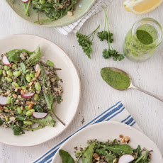 Green Goddess Quinoa Salad