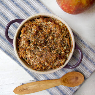 Mini Grain Free Apple Crumbles