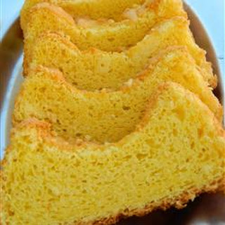 Yellow Angel Food Cake