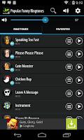 Screenshot of Popular Funny Ringtones