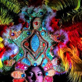 Carnival dancer by Rafael Arnoldo Martínez Zúniga - People Musicians & Entertainers ( carnival, carnaval, festival, nicaragua, alegría, granada, dancer )