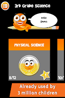 Screenshot of iTooch 3rd Grade Science