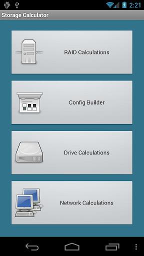 Storage Calculator