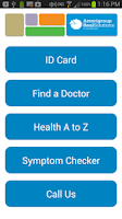Screenshot of Amerigroup Mobile