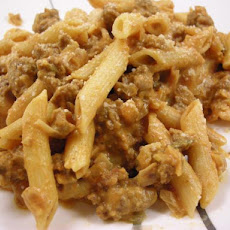 Autumn Pasta with Pumpkin and Sausage