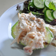 Crab Salad in Avocado No 2