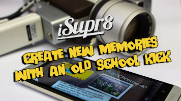 Screenshot of iSupr8 Vintage Video Camera