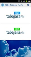 Screenshot of Radio Tabajara AM / FM