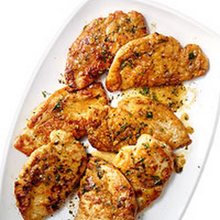 Chicken Cutlets With Quick Pan Sauce Recipe — Dishmaps