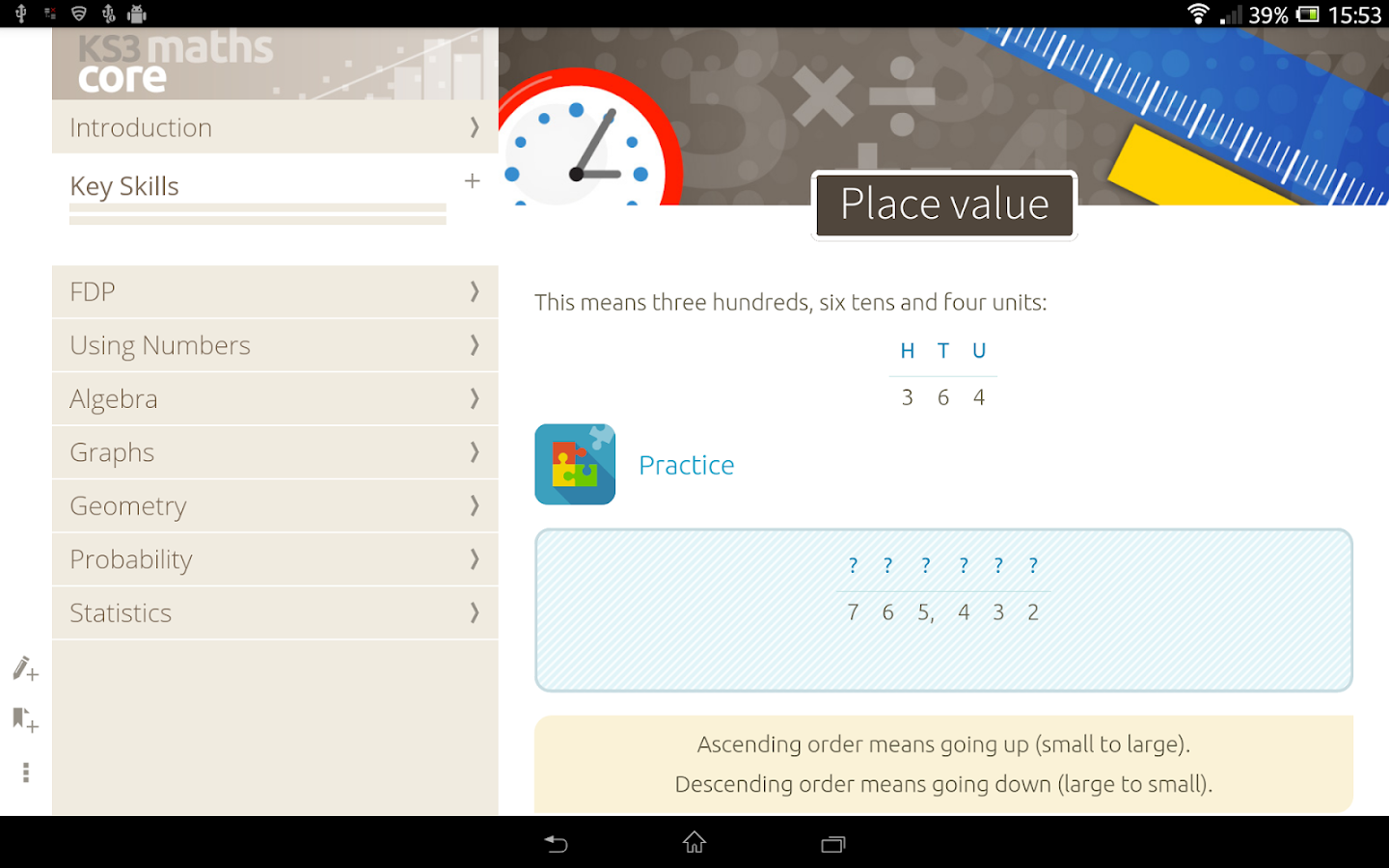 KS3 Maths: Core - nimbl Screenshot 6
