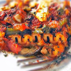 Gluten-Free Roasted Vegetable Lasagna