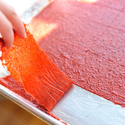 """Homemade Fruit Leather"""