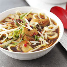 Quick & Easy Hot-and-sour Chicken Noodle Soup