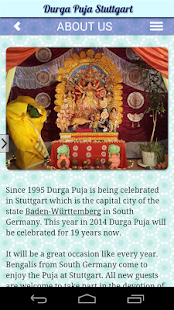 Durga Puja Stuttgart Germany - screenshot