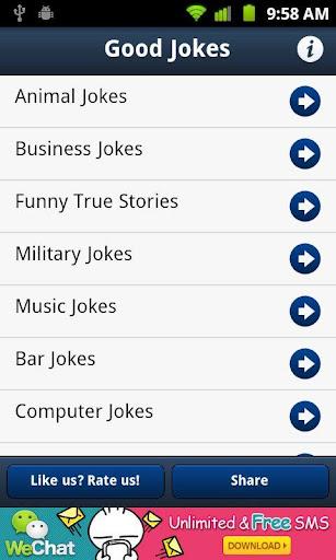 Good Clean Jokes