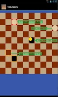 Screenshot of Checkers multiplayer P2P/Local