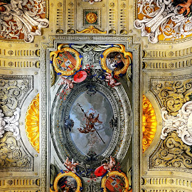 ceiling by Iulia Breuer - Buildings & Architecture Places of Worship ( church, ceiling )