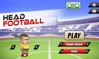 Screenshot of Head Football World Cup