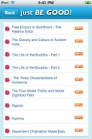 Screenshot of Just Be Good Buddhist