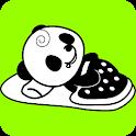 俺パン☆トーク・完全版 (パンダ デジタル時計ウィジェット)
