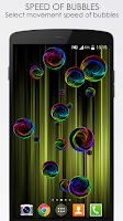 Screenshot of Deluxe Bubble Live Wallpaper
