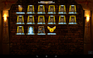 Screenshot of Pharaoh's Lock