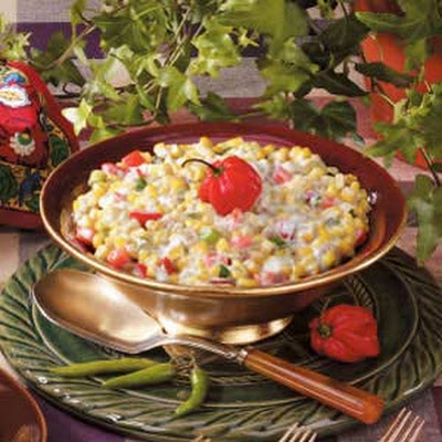 Spicy Creamed Corn