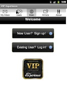 Screenshot of VIP Experience