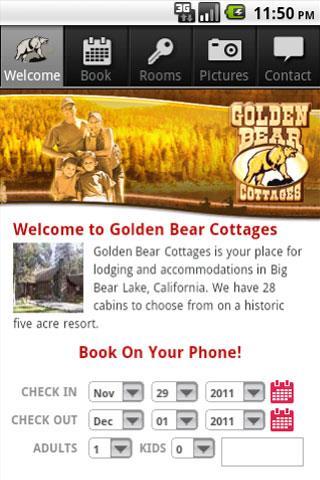 Golden Bear Cottages