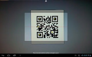 Screenshot of LearnPad Scanner