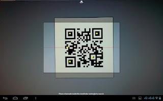 Screenshot of LearnPad Scanner