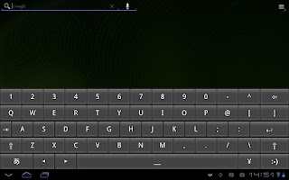 Screenshot of OpenWnn QWERTY