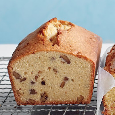 Brown-Sugar, Maple, and Pecan Pound Cake