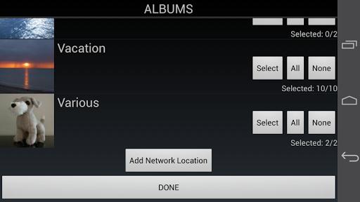 PhotoFlight Slideshow PRO - screenshot