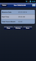 Screenshot of Matrix eServices Mobile