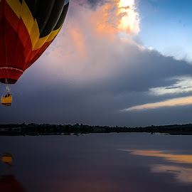 Balloon Lake by Ron Meyers - Transportation Other
