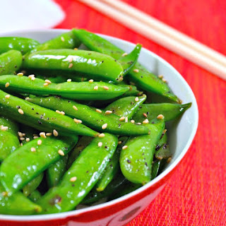 Perfectly Seasoned Sugar Snap Peas