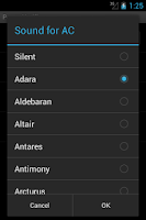 Screenshot of Power Notifier