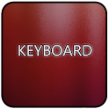 Red Glass Keyboard Skin icon