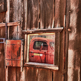 Relection of a Truck! by Fred Herring - Transportation Other